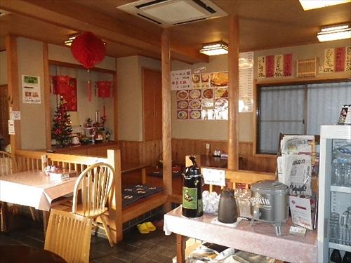 中国料理銀泉2店内1