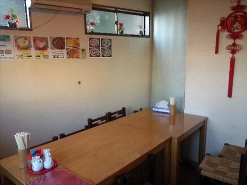 中国料理銀泉3店内2