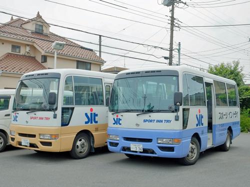 スポーツイントライ4バス